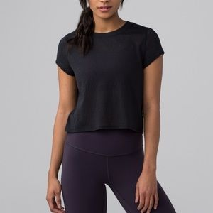 Hint of sheer tee lululemon